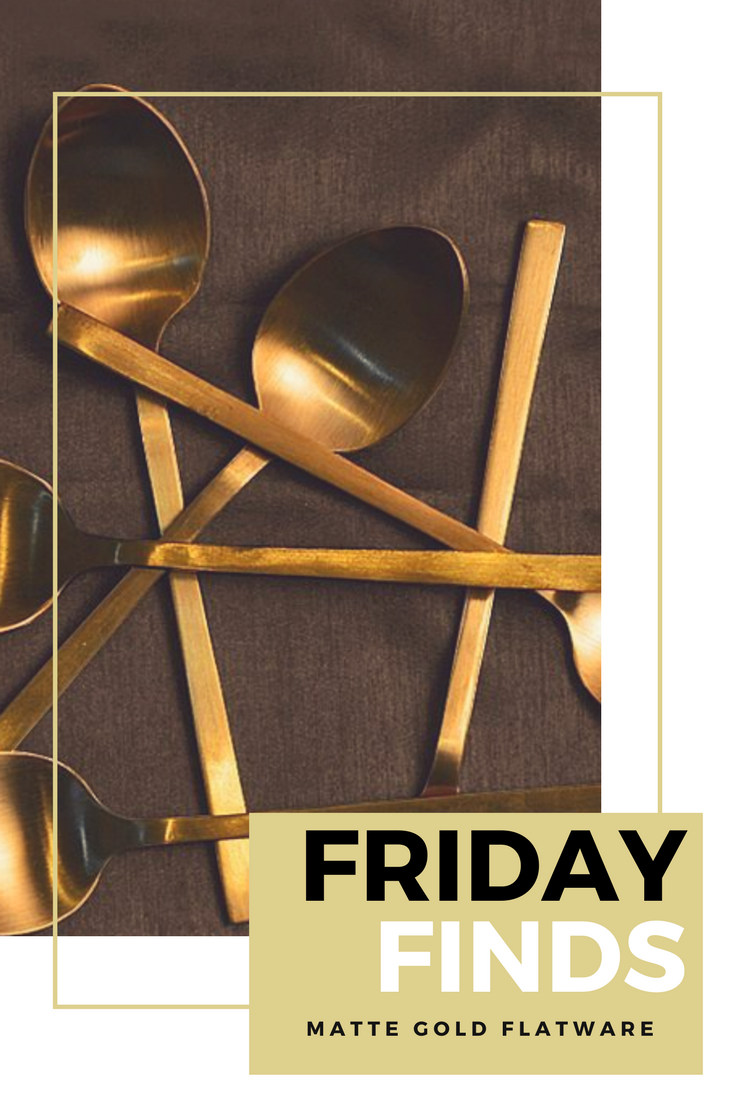 friday-finds-21-matte-gold-flatware