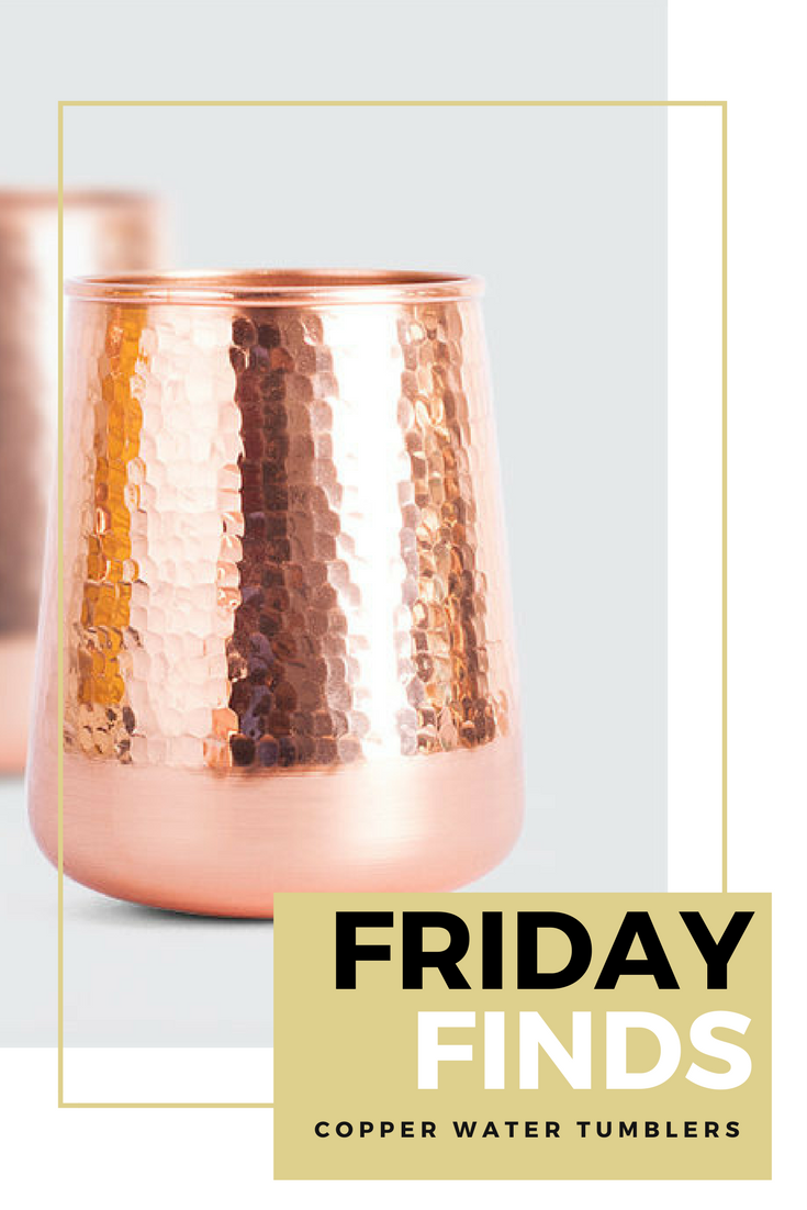 Copper Water Tumblers