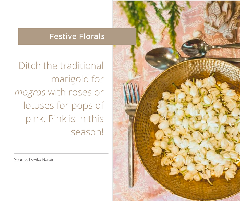 Festive Tablescapes - Florals